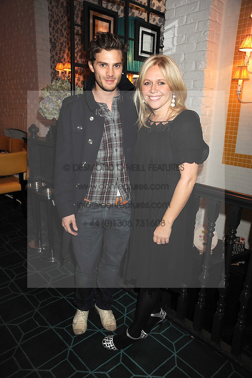 CIARA PARKES and JAMIE DORNAN at a dinner to celebrate 30 years of Odette's restaurant, held at Odette's, 130 Regents Park Road, London NW1 on 24th November 2008.
