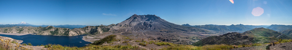 Mt St Helens, 2005, Pano