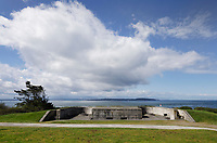 Battery Turman, Fort Casey State Park, Whidbey Island, Washington.