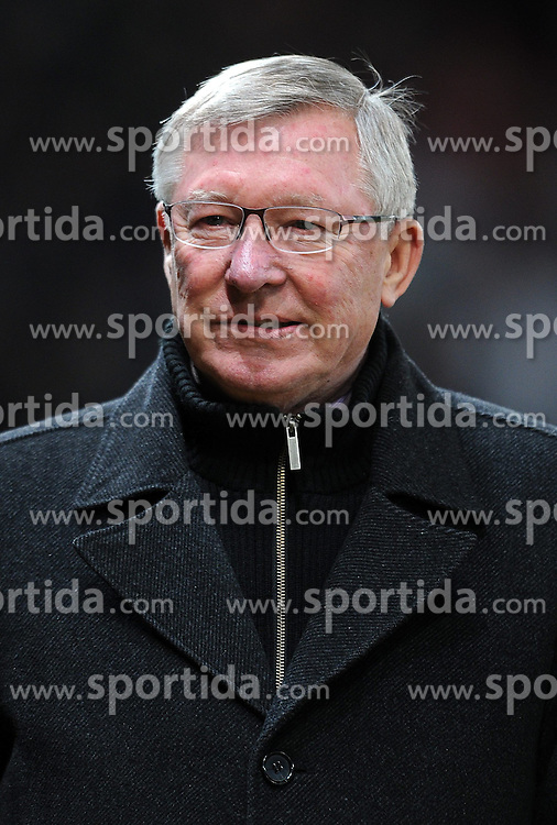 30.01.2013, Old Trafford, Manchester, ENG, Premier League, Manchester United vs FC Southampton, 24. Runde, im Bild Manchester United manager Sir Alex Ferguson looks on during the English Premier League 24th round match between Manchester United and FC Southampton at Old Trafford, Manchester, Great Britain on 2013/01/30. EXPA Pictures © 2013, PhotoCredit: EXPA/ Propagandaphoto/ Chris Brunskill..***** ATTENTION - OUT OF ENG, GBR, UK *****