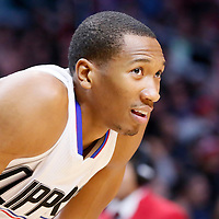16 December 2015: Los Angeles Clippers forward Wesley Johnson (33) rests during the Los Angeles Clippers 103-90 victory over the Milwaukee Bucks, at the Staples Center, Los Angeles, California, USA.