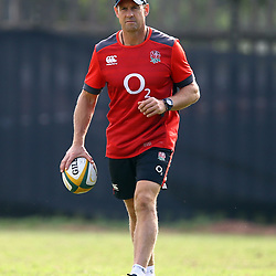 Scott Wisemantel (Attack Coach) of England during the England Rugby training session at  Jonsson Kings Park Stadium,Durban.South Africa. 19,06,2018 Photo by (Steve Haag JMP)