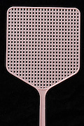 a pink fly swatter