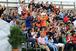 Supporters from the Netherlands<br /> FEI European Dressage Championship Juniors - Young Riders - Bern 2012 <br /> © Hippo Foto - Leanjo de Koster
