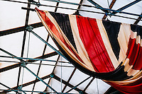 National Railway Museum, York, North Yorkshire, United Kingdom, 01 November, 2014. Pictured: Union Jack Flag