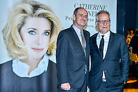 Remise du Prix Lumiere a Catherine Deneuve, 1ere femme a recevoir ce prix.<br /> Pierre Lescure & T. Fremeaux<br /> <br /> Catherine Deneuve Receives 'Prix Lumiere 2016' Award - 8th Film Festival Lumiere In Lyon
