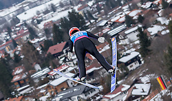 30.01.2016, Normal Hill Indiviual, Oberstdorf, GER, FIS Weltcup Ski Sprung Ladis, Bewerb, im Bild Juliane Seyfarth (GER) // Julina Seyfarth of Germany during his Competition Jump of Four Hills Tournament of FIS Ski Jumping World Cup Ladis at the Normal Hill Indiviual, Oberstdorf, Germany on 2016/01/30. EXPA Pictures © 2016, PhotoCredit: EXPA/ Peter Rinderer