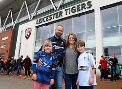 Worcester Warriors fans arrive at Leicester Tigers for the Aviva Premiership fixture - Mandatory by-line: Robbie Stephenson/JMP - 08/10/2016 - RUGBY - Welford Road Stadium - Leicester, England - Leicester Tigers v Worcester Warriors - Aviva Premiership