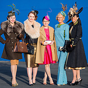 28.12.2016              <br /> Limerick Racecourse are delighted to announce that Sunway Holidays are once again the title sponsor of the Festive Most Stylish Ladies Day taking place on Wednesday 28th December as part of the 4 Day Shannon Airport Christmas Racing Festival which runs from 26th-29th December 2016.<br /> <br /> Attending the event were participants in the Festive Most Stylish Ladies Day at Limerick Racecourse, Ana Victoria Mulch, Ballinsloe Co. Galway, Gretta Peters, Bansha Co. Tipperary, Triona Cross, Kilfeakle Co. Tipperary, Breda Butler Thurles and Grace Flynn, Kilcornan Co. Limerick. Picture: Alan Place
