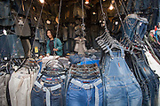 Namdaemun Market. Cheap Jeans.