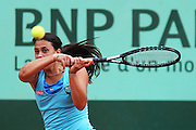 Roland Garros 2011. Paris, France. May 27th 2011..French player Marion BARTOLI against Julia GOERGES