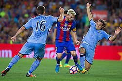 August 10, 2016 - Barcelona, Spain - Lionel Messi. 51st edition of the Joan Gamper Trophy between FC Barcelona and Sampdoria. Camp Nou, Barcelona, Spain. August 10th., 2016. Barça win 3-2  thanks to goals from Messi (2) and Luis Suárez. Budimir and Muriel for Sampdoria (Credit Image: © Eric Alonso /  Media Expres/VW Pics via ZUMA Wire)