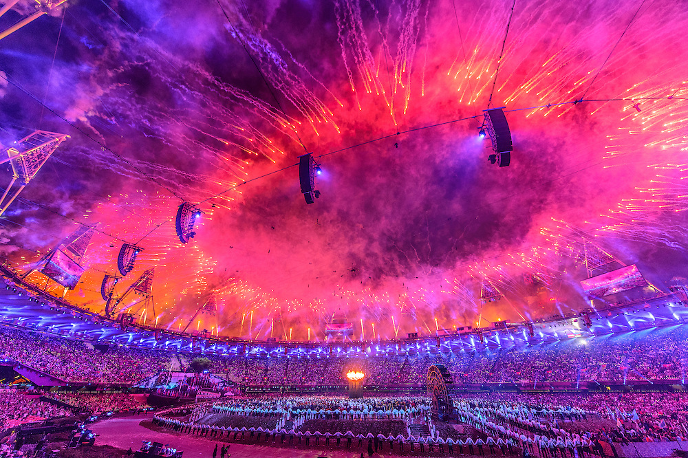The 2012 London Olympic games: Day 1, opening ceremony