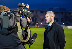 Willie Kirk manager of Bristol City Women gives a post-match interview - Mandatory by-line: Paul Knight/JMP - 03/05/2018 - FOOTBALL - Stoke Gifford Stadium - Bristol, England - Bristol City Women v Manchester City Women - FA Women's Super League 1