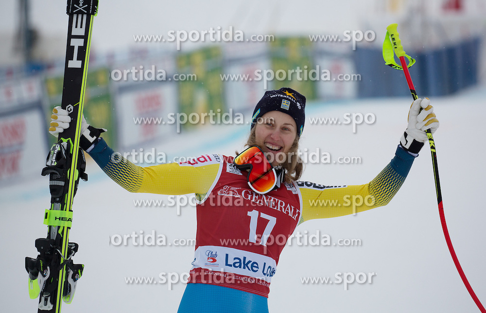 02.12.2016, Lake Louise, USA, FIS Weltcup Ski Alpin, Lake Louise, Abfahrt, Damen, im Bild Kajsa Kling (SWE) // Kajsa Kling of Sweden during Women's Downhill of the Lake Louise FIS Ski Alpine World Cup. Lake Louise, United States on 2016/12/02. EXPA Pictures &copy; 2016, PhotoCredit: EXPA/ SM<br /> <br /> *****ATTENTION - OUT of GER*****