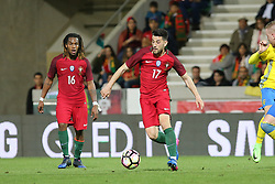 March 28, 2017 - Funchal, Madeira, Portugal - Portugals midfielder Pizzi during the FIFA 2018 World Cup friendly match between Portugal v Sweden at Estadio dos Barreiros on March 28, 2017 in Funchal, Madeira, Portugal. (Credit Image: © Dpi/NurPhoto via ZUMA Press)