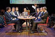 Nederland Amsterdam 29 mei 2015..<br /> Geldschepping: de mythes, de feiten en de alternatieven.<br /> Foto: Jan Boeve / De Balie