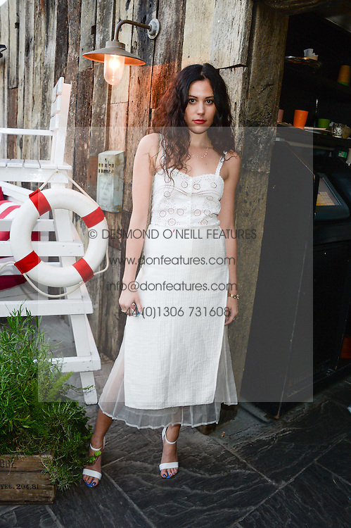 ELIZA DOOLITTLE attending the Warner Bros. & Esquire Summer Party held at Shoreditch House, Ebor Street, London E1 on 18th July 2013.