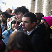 First day of the trial of the Stansted 15 in Chelmsford crown court. The defendants and supporters including speakers like Jonathan Bartley, co-leader of the Green Party. The initial trial in March 2018 was postponed to October 1. The 15 defendants are charged under the terrorism legislation for stopping a deportation flight in Standsted airport 2017. The flight was due to deport people to Nigeria and Ghana and the action stooped the plane from taking off. Several of the deportees are still in the UK.