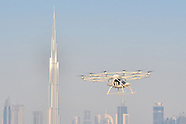 First Autonomous Drone Taxi Test Flight - Dubai - 28 Sep 2017