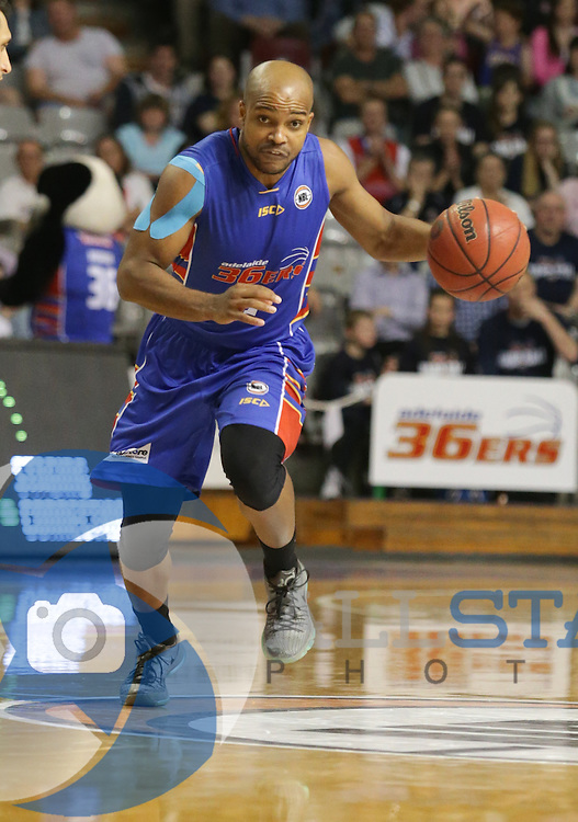 NBL Adelaide 36ers vs Nz Breakers at the Titanium Security Arena