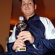NLD/Huizen/20060117 - Lars van Amstel nationaal rolstoeltennis kampioen Steenplaat 29 Huizen,