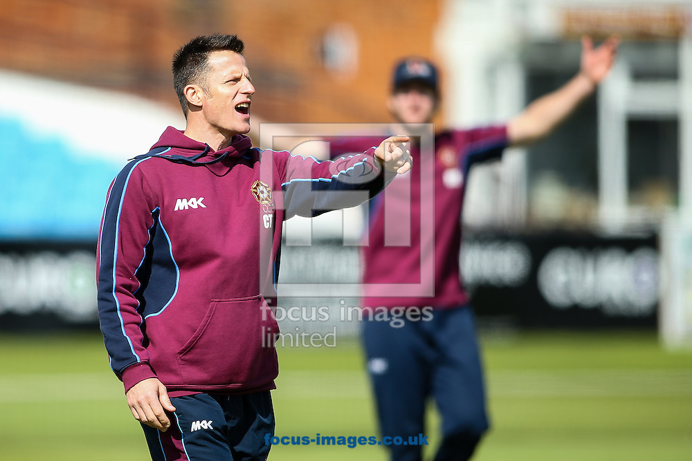 Chris Tombs, Northamptonshire CCC head strength and conditioning coach, before the Specsavers County C'ship Div Two match at the County Ground, Northampton<br /> Picture by Andy Kearns/Focus Images Ltd 0781 864 4264<br /> 16/05/2016