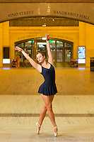 Grand Central Station, New York, NY. Dance As Art- The New York Photography Project featuring Jaclyn Wheatley.