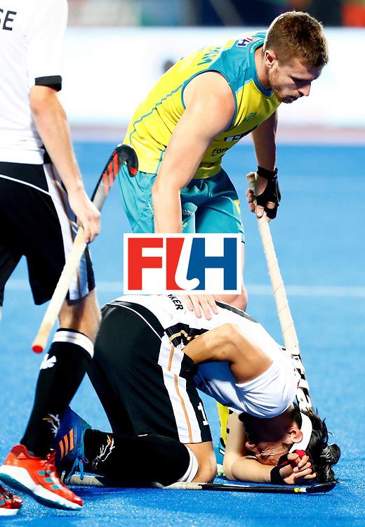 Odisha Men's Hockey World League Final Bhubaneswar 2017<br /> Match id: 20<br /> Australia v Germany<br /> Foto: Dan Nguyen (Ger) <br /> COPYRIGHT WORLDSPORTPICS KOEN SUYK