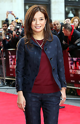 Director Vicki Zhao arriving for the premiere of The Invisible Woman, in London, Thursday, 17th October 2013. Picture by Stephen Lock / i-Images