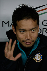 Bari (BA), 03-02-2011 ITALY - Italian Soccer Championship Day 23 - Bari VS Inter..Pictured: Nagatomo (I)..Photo by Giovanni Marino/OTNPhotos . Obligatory Credit