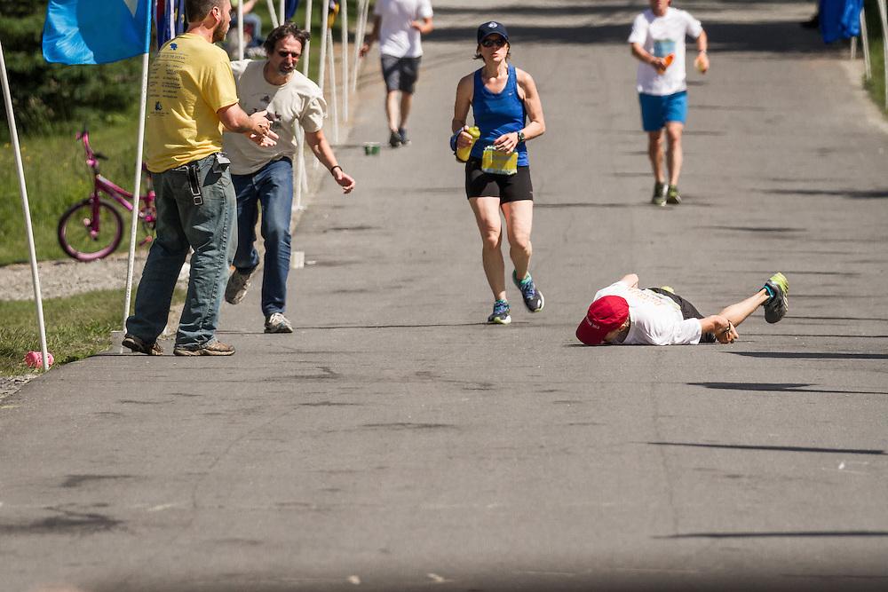 The Great Run: Michael Westphal, 58, from Maine, with Parkinson's disease, runs marathon in Boston-qualifying time of 3:33 Micheal Westphal, with Parkinsons disease, completes marathon in time that qualifies him for Boston Marathon