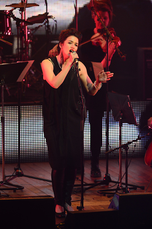 Julia Deans performing at the APRA Silver Scroll Awards 2012. Auckland Town Hall. 13 September 2012.