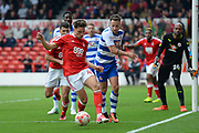 Nottingham Forest midfielder Matty Cash (41) during the EFL Sky Bet Championship match between Nottingham Forest and Reading at the City Ground, Nottingham, England on 22 April 2017. Photo by Jon Hobley.