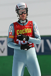 Primoz Peterka of  SK Triglav, second place at Slovenian National Championship in Ski Jumping on February 12, 2008 in Kranj, Slovenia . (Photo by Vid Ponikvar / Sportal Images).