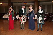 Iona, Duchess of Argyll, Viscount Dupplin, Lady Caroline and Lord Harry Dalmany. The Royal Caledonian Ball 2007. Grosvenor House. 4 May 2007.  -DO NOT ARCHIVE-© Copyright Photograph by Dafydd Jones. 248 Clapham Rd. London SW9 0PZ. Tel 0207 820 0771. www.dafjones.com.
