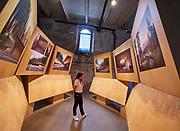 "FREESPACE - 16th Venice Architecture Biennale. Arsenale. Walter Angonese, ""Besucherzentrum Karersee (2008)""."