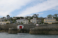 Coliemore Harbour in Dalkey, Ireland
