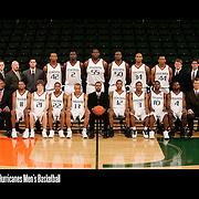 Hurricanes Men's Basketball Team Photos