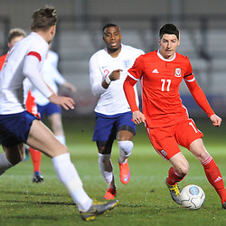19/3/2019 - Eliot Evans(Cardiff Met) during the C International between England and Wales at the Peninsula Stadium, Salford.<br /> <br /> Pic: Mike Sheridan/County Times<br /> MS023-2019