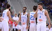 DESCRIZIONE: Torino FIBA Olympic Qualifying Tournament Italia - Croazia<br /> GIOCATORE: TEAM ITALIA<br /> CATEGORIA: Nazionale Italiana Italia Maschile Senior<br /> GARA: FIBA Olympic Qualifying Tournament Italia - Croazia<br /> DATA: 05/07/2016<br /> AUTORE: Agenzia Ciamillo-Castoria