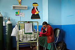 Traditional and medical health care in Peru.