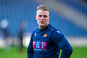 Duhan van der Merwe (#11) of Edinburgh Rugby warms up before the European Rugby Challenge Cup match between Edinburgh Rugby and SU Agen at BT Murrayfield, Edinburgh, Scotland on 18 January 2020.