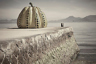 The Giant Pumpkin Naoshima Island Japan