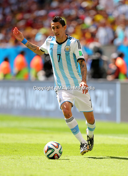 Angel Di Maria of Argentina