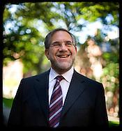 (Cambridge, MA - August 29, 2007) - Harvard University Provost and Professor of Neurobiology, Steven Hyman. Staff Photo Justin Ide/Harvard News Office