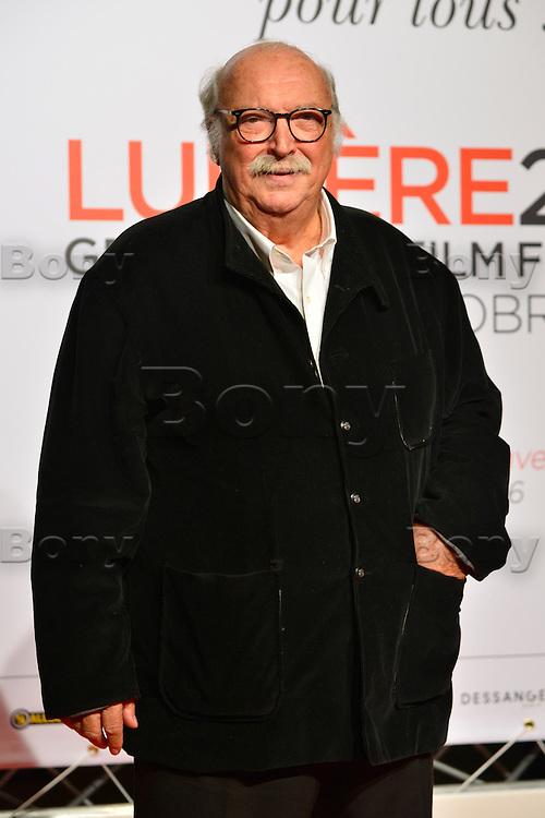 Jean Becker<br /> Lyon 8 oct 2016 - Festival Lumi&egrave;re 2016 - C&eacute;r&eacute;monie d&rsquo;Ouverture<br /> 8th Film Festival Lumiere In Lyon : Opening Ceremony