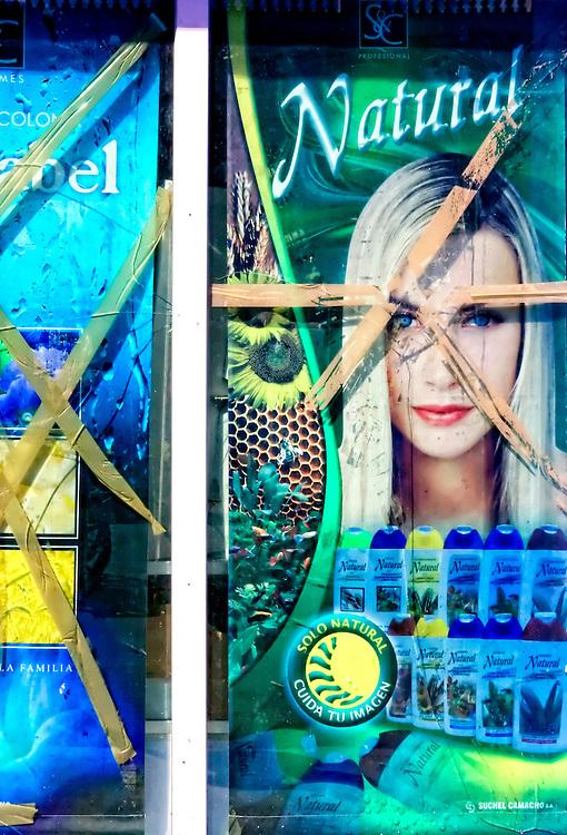 Shampoo advertising in Cardenas, Matanzas, Cuba.