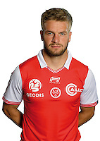 Atila Turan of Reims during the photocall of Reims for new season of Ligue 2 on September 29th 2016 in Reims<br /> Photo : Stade de Reims / Icon Sport