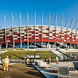 20111201: POL, Football - New football stadium in Warsaw for Euro 2012